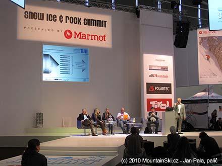 Součástí veletrhu ISPO byly i různé prezentace a workshopy