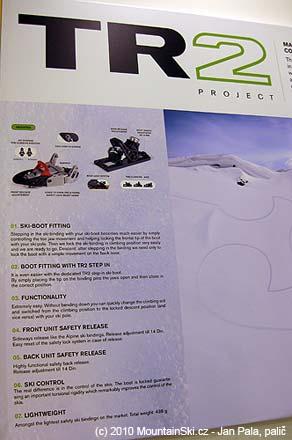 Základní informace ke Ski Trab TR2