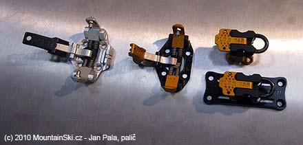 Hmotnosti vázání Plum jsou buď 145 nebo 185 gramů