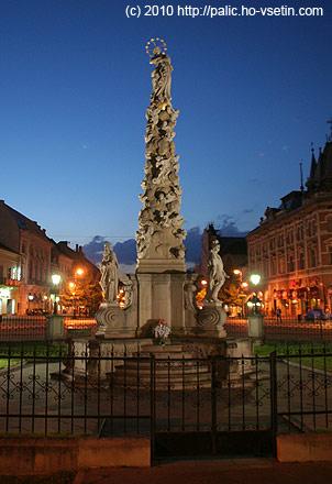 Hlavní košické náměstí