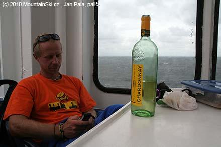 Na trajektu je chvíle dlouhá, Chardonnay se hodí vždy