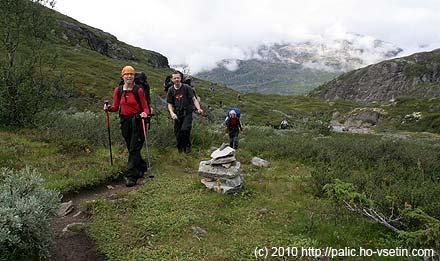 Pohodová procházka údolím Storutladalen
