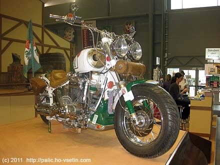 Plzeňský pivni motocykl…