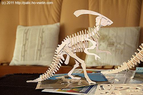 Hotový Little Parasaurolophus