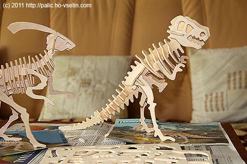 Hotový Tyrannosaurus